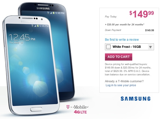 samsung galaxy s4 tmobile