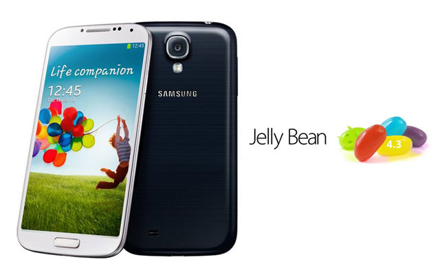 samsung galaxy s4 updated to android 4.3
