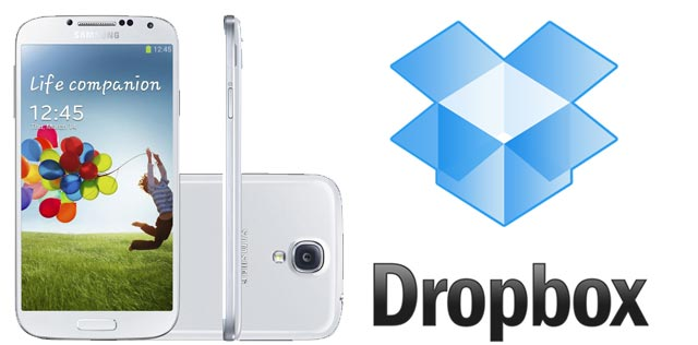 free 50gb dropbox for samsung galaxy s4